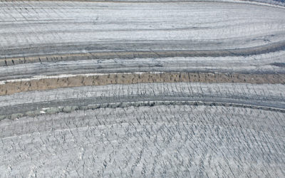 Aral Sea in winter
