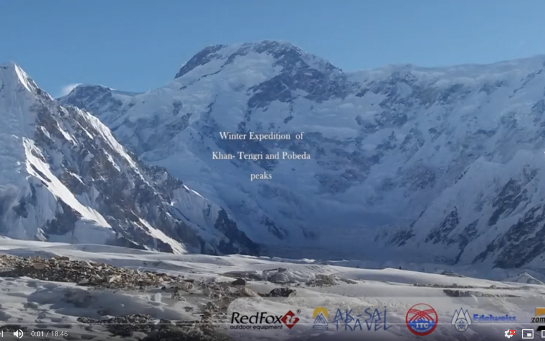 Winter expedition to the peaks of Khan-Tengri and Pobeda 2017